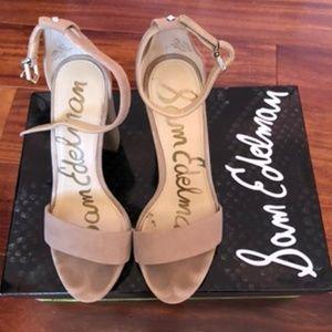 SAM EDELMAN - Yaro Ankle Strap Sandal (Size 5.5)